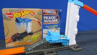 Hot Wheels Track Builder Lift & Launch RaceGrooves Review