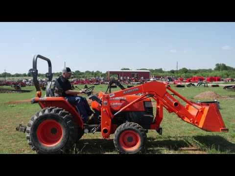 Used Kubota L3400 Tractor With Loader For Sale At Big Red's Equipment