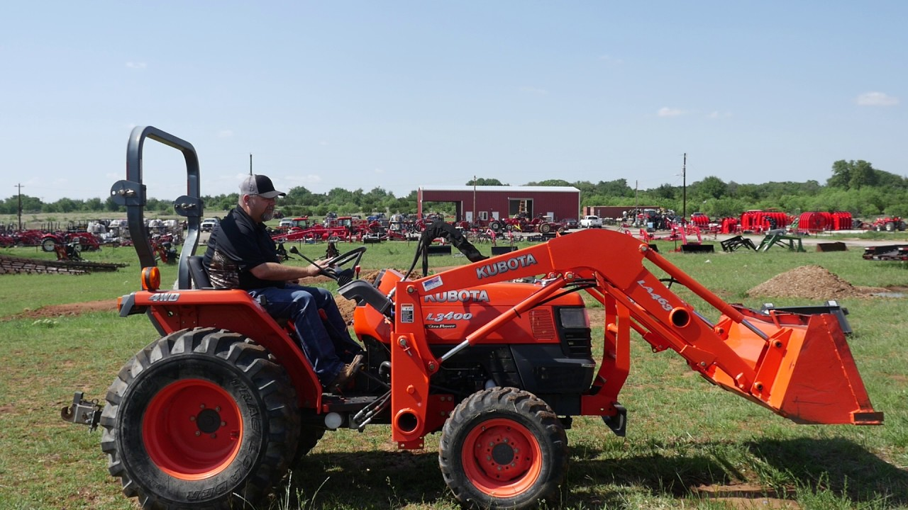 Kubota tractors for sale in kentucky - Used Kubota L3400 Tractor With Loader For Sale At Big Red S Equipment