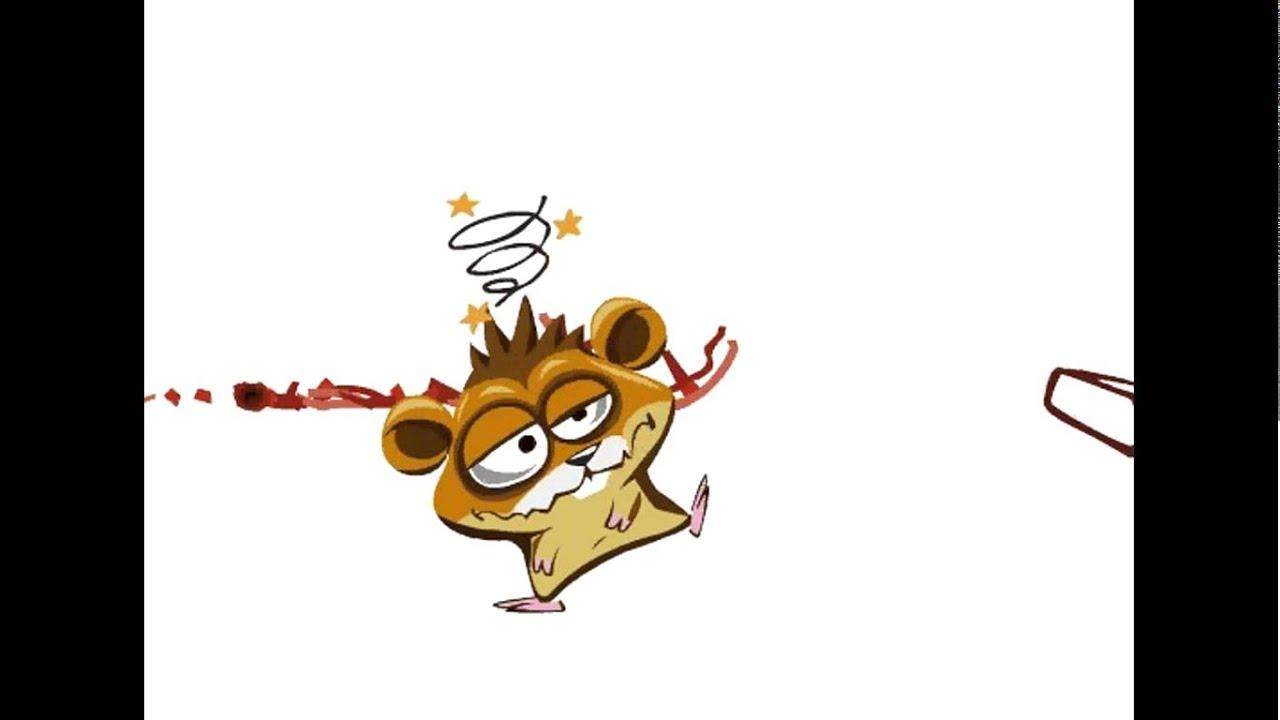 Dessin anim cartoon hamster fou youtube - Hamster dessin anime ...
