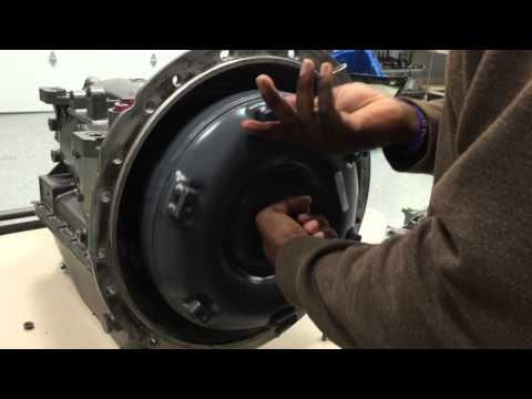How To Install An AT545 Torque Converter YouTube