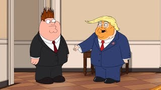 Peter Now Works For Trump | Family GUY