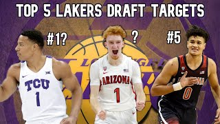 Top 5 Players the Lakers Should Target in the 2020 NBA Draft! Lakers Draft News, Lakers Free Agency