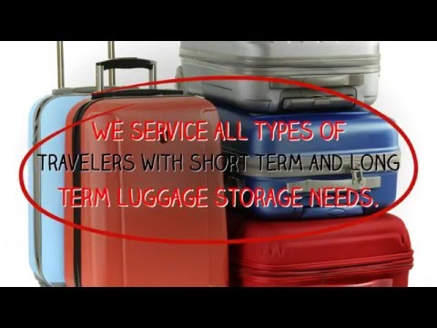 Short Term Luggage Storage NYC- near Times Square
