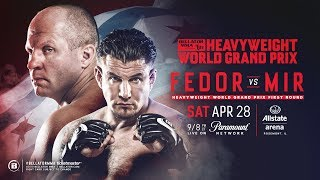 Bellator 198: Fedor vs. Mir -  Official Weigh Ins Video and Results