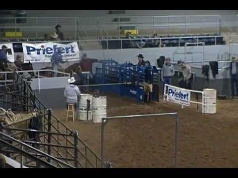 Stephen Robinson At The Ultimate Calf Roping In Sweetwater