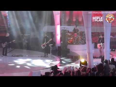 SIMPLE PLAN - SUMMER PARADISE live at ANTv Viva La Vida, Jakarta Indonesia 2013