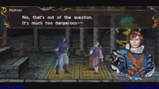 Castlevania: The Dracula X Chronicles Walkthrough (Stage 2)
