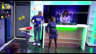 Video Vixen model dance on live TV |  DNG left speechless