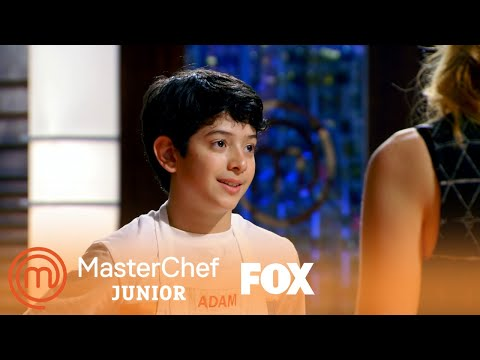 Adam Presents His Falafel Style Mediterranean Vegan Burger | Season 5 Ep. 4 | MASTERCHEF JUNIOR