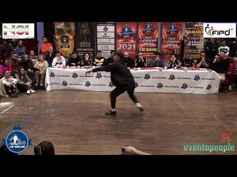 SALSANAMA' 2020 : PAU RODRIGUEZ IRE KUMASY  VS  DE ANGELIS NICOLO'  - PROFESSIONAL MEN -  57 -