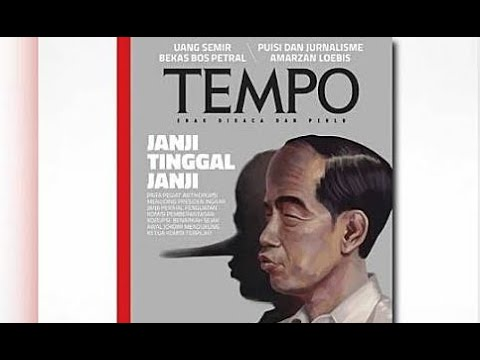 "Sampul Majalah ""Jokowi Pinokio"", Tempo: Itu Produk Jurnalistik"
