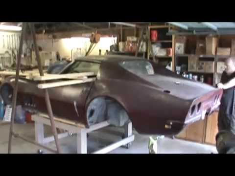 removing paint from interior parts on c4 corvette doovi. Black Bedroom Furniture Sets. Home Design Ideas