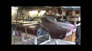 1969 Corvette Body Installation