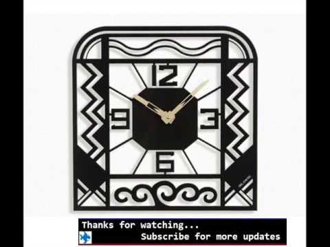 Wall Clocks Art Deco | Wall Clock Designs   YouTube