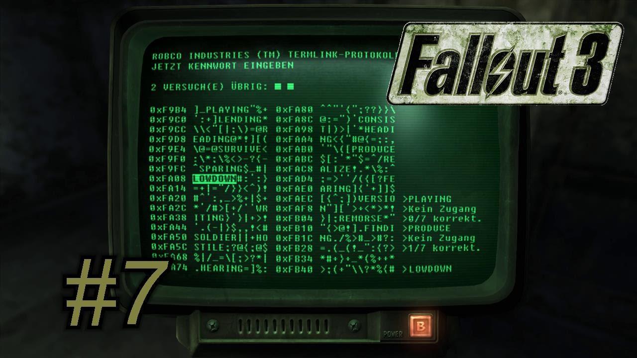 Fallout 3 hacking guide youtube.