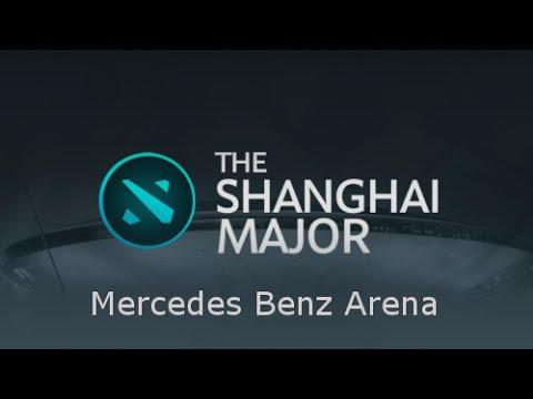 The Shanghai Major - Announcement and Venue - Mercedes Benz Arena