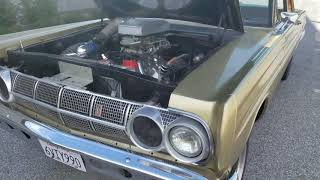 1964 Mercury Comet Drag car