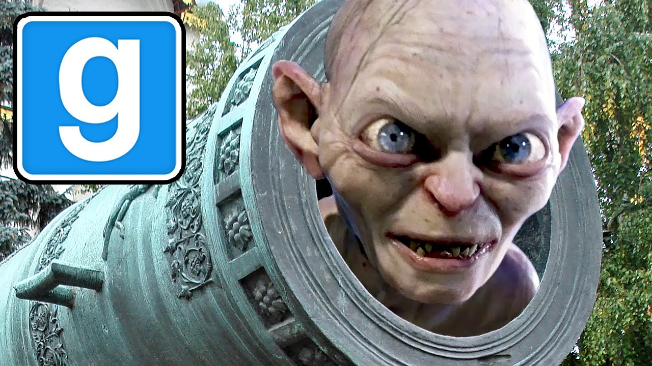 Man With The Gollum Gun (Garry's Mod Murder) - YouTube