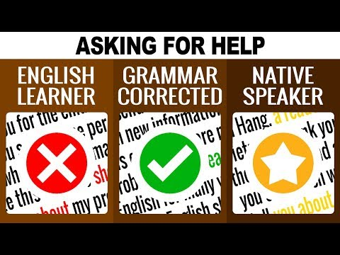 3 Levels of Writing to Ask for Help: English Learner to Native | EnglishAnyone