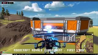 Robocraft Royale — первый геймплей