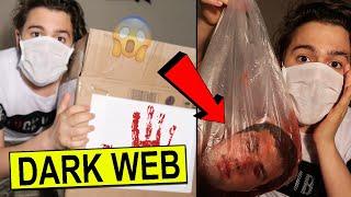 (İNSAN KAFASI) DARK WEB'ten GİZEMLİ KUTU AÇTIM!