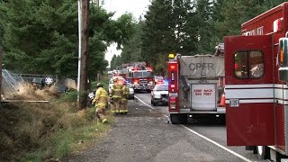 One Car Injury Rollover Accident 1300 Block 152nd St East Spanaway WA by  Matthew Washam