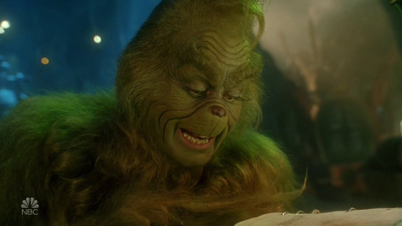 The Grinch has a busy schedule