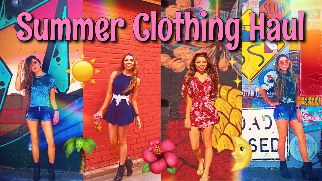 Huge Affordable Clothing Haul 2017! | Romwe & Shein
