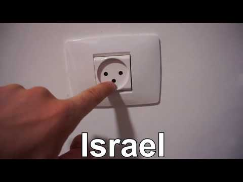 Israel Wall Outlet - 230V AC