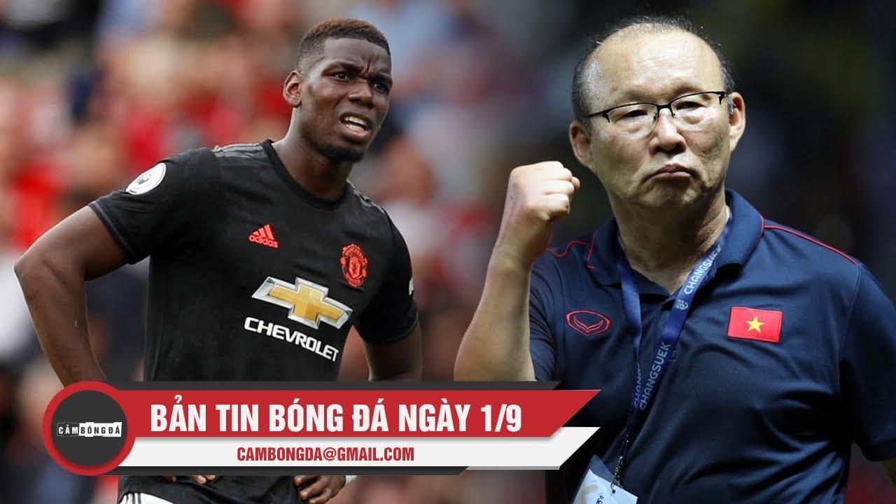Bản tin Cảm Bóng Đá ngày 1/9 | Man Utd hòa đáng tiếc, Thầy trò Park Hang-seo lên đường sang Thái