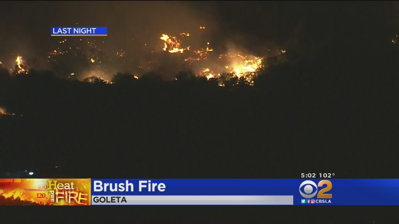 Fire Crews Make Significant Progress On #HolidayFire In Goleta, Now At 80 Percent Containment