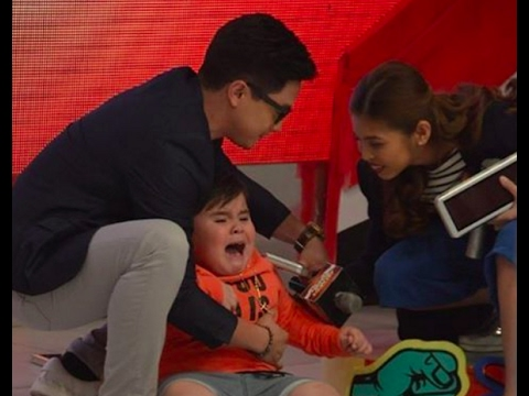 Eat Bulaga February 13 2017 SPOTTED: What happened to Baeby Baste and guess who comes to the rescue