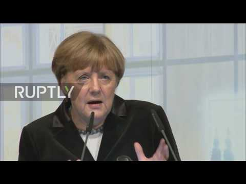 Germany: Merkel vows to fight for free trade
