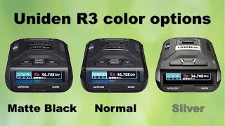 Uniden R3 in different colors?