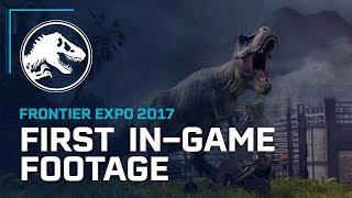 first in game footage jurassic world evolution