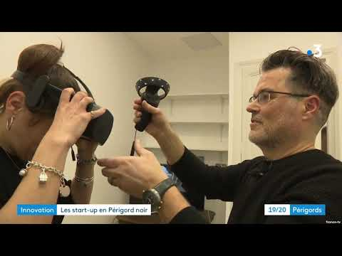 France 3 reporting on UNIQORN Incubator's XR showcase in Southern France