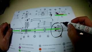 Как снять рулевую рейку FIAT Linea 1.4 77л.с.
