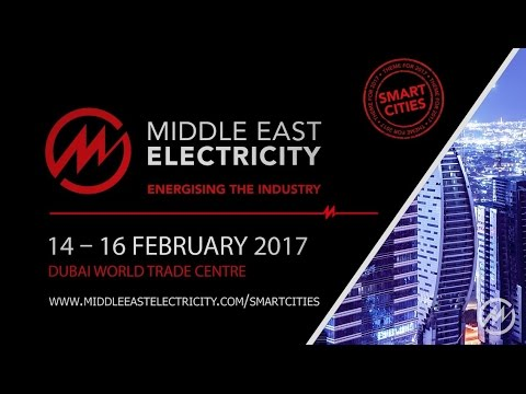 Visit Middle East Electricity 2017 | Smart Cities