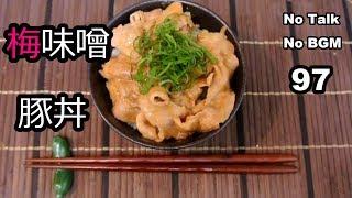 Ume Miso Pork (No Talk No BGM 97)