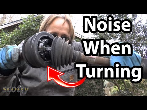 How to Fix Car Noise When Turning (CV Joint and Axle)