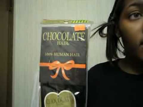 Doing my own sew in w chocolate hair by ever youtube chocolate hair by ever pmusecretfo Images