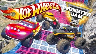 HOT WHEELS MONSTER JAM TRUCK CHALLENGE (Cars 3 Challenge)