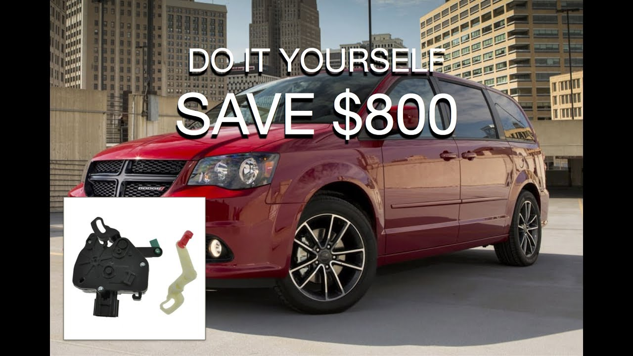 2011 dodge grand caravan door lock problems