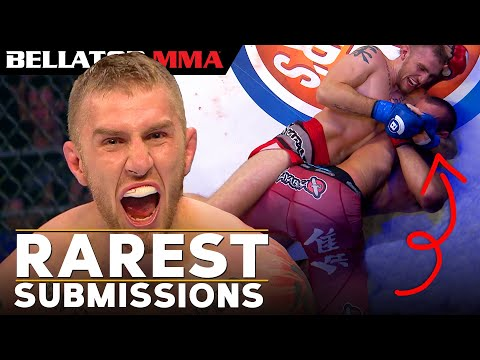 Have You Seen These INSANE Rare Submissions!? | Bellator MMA