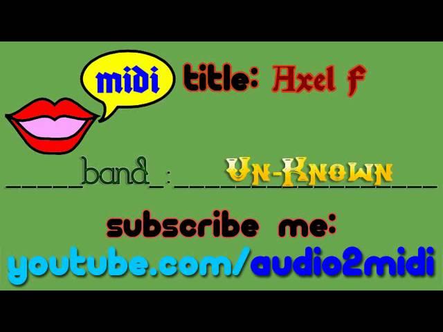 Axel f part 1 [MIDI - Instrumental]