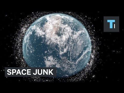 The amount of space junk around Earth has hit a critical poi