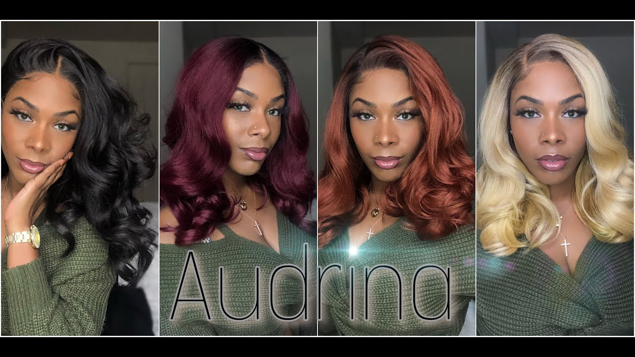 Download Outre Melted Hairline Synthetic Lace Front Wig - Audrina | HSF