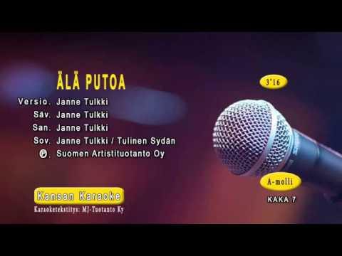 Janne Tulkki: Älä putoa Karaoke versio.