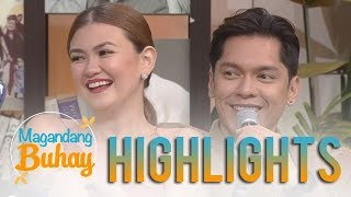 Magandang Buhay: Carlo and Angelica admit that they still love each other